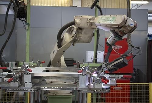 anteprima - Saldatura robotizzata
