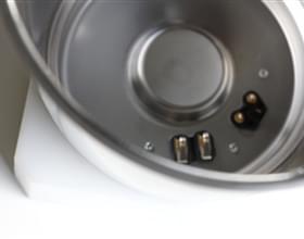 Edelstahlbehälter für die Branche Küchenmaschinen.