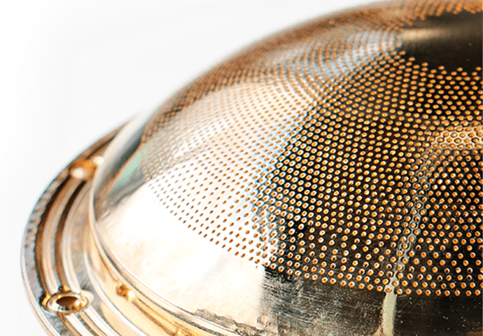 Flammenverteiler für Boiler