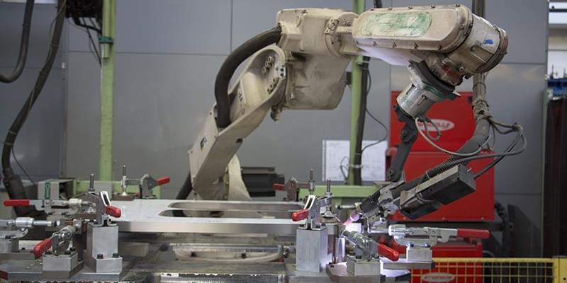 principale - Saldatura robotizzata